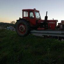 Tragedija Kretingos rajone: traktorius mirtinai prispaudė vyrą