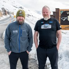 Tryliktoji M. Starkaus ir V. Radzevičiaus kelionė – išskirtinė patirtis šiaurėje