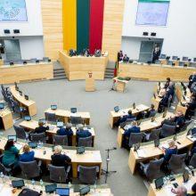 Seimas – už savivaldybių vidaus sandorius