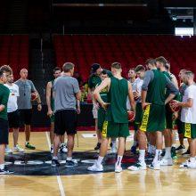 Lietuvos rinktinė į Taliną atvyko be dviejų krepšininkų
