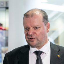 S. Skvernelis apie EK raginimą sumažinti taršą 55 procentais: tikslas – įveikiamas