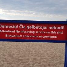 Tragiškas ketvirtadienis: jūra pasiglemžė dar vieno vyro gyvybę <span style=color:red;>(papildyta)</span>