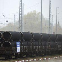 """""""Nord Stream 2"""" paleidimas gali būti atidėtas metams"""