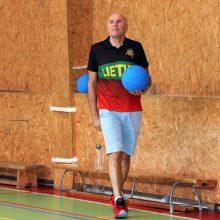 Golbolo rinktinės treneris V. Gecevičius: su belgais reikia žaisti maksimaliai