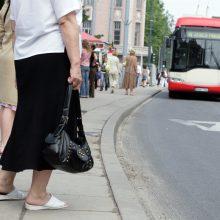 Skaudi nelaimė Vilniuje: troleibusas kliudė ant šaligatvio stovėjusią senolę