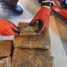 Estų jachta prie Tenerifės krantų rado pusę tonos hašišo
