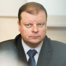 S. Skvernelis pirmadienį žada sprendimą dėl finansų priežiūros institucijų