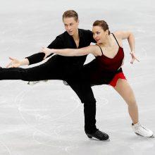 Asmeninį rekordą pagerinusi Lietuvos čiuožėjų pora iškopė į čempionato finalą