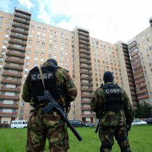 Rusijos FSB skelbia sulaikiusi Kryme 20 islamistų