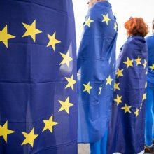 Apklausa: kas dešimtas vokietis yra už pasitraukimą iš ES