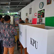 Indonezijoje baigėsi prezidento ir parlamento rinkimai