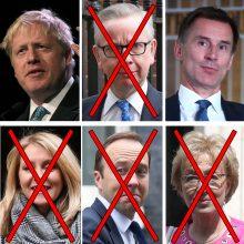 Paaiškėjo, kada bus paskelbtas naujasis Didžiosios Britanijos premjeras