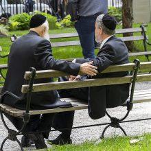Vokietija tikina užtikrinsianti žydų saugumą nuo antisemitinių išpuolių