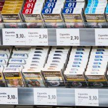 Siūloma įteisinti su rūkalais susijusių gaminių prekybos licencijavimą
