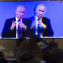 V. Putinas tiesioginiame eteryje aiškinosi, kada Rusijoje pagerės gyvenimas