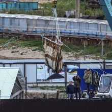 """Rusijai iš """"banginių kalėjimo"""" paleidžia dar tris orkas"""