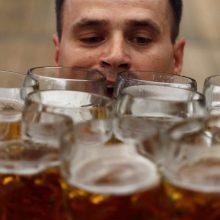 Kriminogeninių židinių patikra: vyras nuo baro iki baro keliavo su alaus bokalu
