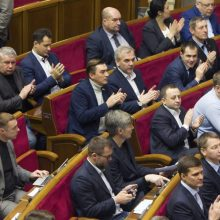 Kijevas priėmė įstatymą, sustiprinantį ukrainiečių kalbos statusą