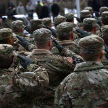 Lenkijoje per eismo nelaimę sužeisti septyni JAV pajėgų kariai