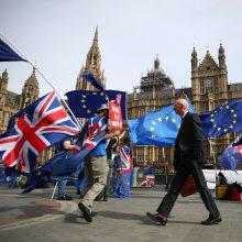 """""""Brexit"""" be susitarimo: svarbiausi tokio scenarijaus punktai"""