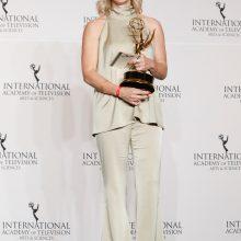 """Niujorke išdalyti tarptautiniai """"Emmy"""" apdovanojimai"""