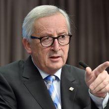"""J.-C. Junckeris prieš britų balsavimą dėl """"Brexit"""" ragina dar pasistengti"""