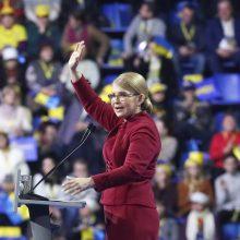 Ukrainos ekspremjerė J. Tymošenko dalyvaus prezidento rinkimuose
