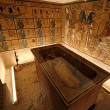 Pirmą kartą bus restauruojamas Tutanchamono sarkofagas