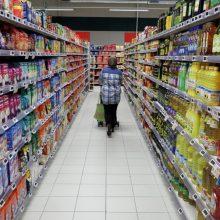 Lietuvos bankas: maisto kainų augimas pernai darė mažiau įtakos infliacijai