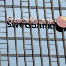 """Švedijos finansų inspekcija: kaltinimai """"Swedbank"""" yra labai rimti"""