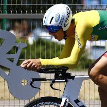 R. Navardausko gimtajame krašte – dviratininkų kovos dėl čempionų titulų