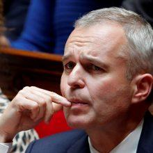 Atsistatydino Prancūzijos aplinkos ministras: politikas įtariamas sukčiavimu