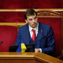Atsistatydina Ukrainos premjeras O. Hončarukas