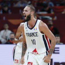 Mūšio dėl bronzos pabaiga: Prancūzijos krepšininkai įveikė Australiją