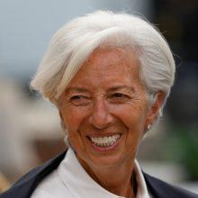 C. Lagarde tapo naująja ECB pirmininke