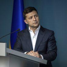 Kijevas žada griežtą V. Zelenskio poziciją derybose su V. Putinu