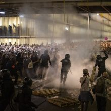 Nesibaigianti įtampa: Barselona ruošiasi šimtatūkstantiniam protestui