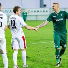 Futbolininkas V. Slavickas: atrodo, kad nežaidžiau visus metus