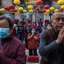 Naujo viruso protrūkis Azijoje aptemdė Naujųjų metų sutiktuves