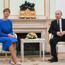 Po vizito Maskvoje Lietuva ragina Estiją derinti veiksmus