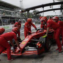 """Kinijoje dėl tebeplintančio koronaviruso atidėtos """"Formulės 1"""" lenktynės"""