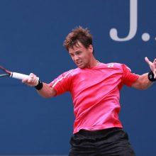 Paaiškėjo, su kuo žais tenisininkas R. Berankis pirmajame Vimbldono turnyro rate