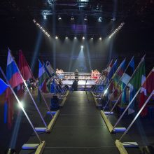 Vilniuje prasidėjo tarptautinis D. Pozniako bokso turnyras