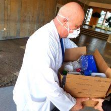 Uostamiesčio medikams – žmonių parama