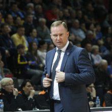 K. Maksvytis pasiruošęs stoti prie Lietuvos rinktinės vairo