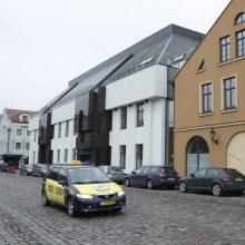 Taksistams prie Klaipėdos dramos teatro – ne vieta