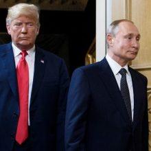 G-20 susitikime V. Putinas ir D. Trumpas aptars Irano ir ginklų kontrolės klausimus