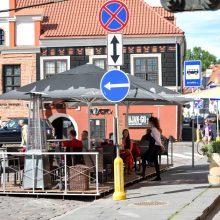 Siūloma atsisakyti draudimo alkoholiu prekiauti lauko kavinėse ir renginiuose