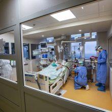 Santaros klinikose iš 153 sergančiųjų gydomi ir keturi vaikai