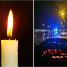 Tragiškas ketvirtadienio vakaras: Kauno rajone mirtinai partrenkta pėsčioji
